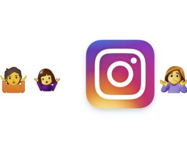 Cara mengirimkan stiker selfie di Instagram apps