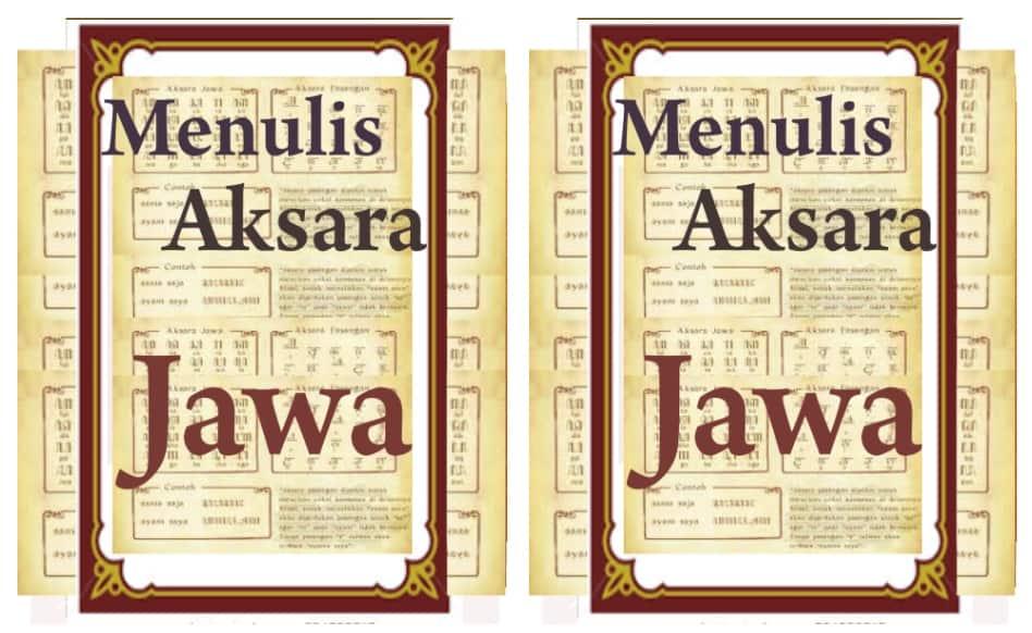Tampilan dan fitur Menulis Aksara Jawa Kuno